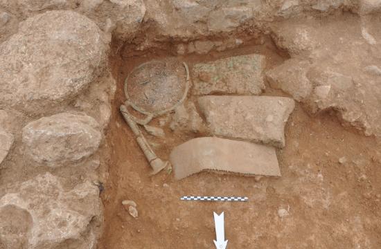 Αρχαιολογική ανακάλυψη με κτίσματα μινωικού οικισμού στη νησίδα Χρυσή