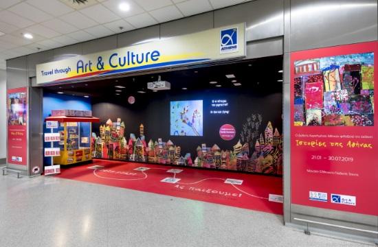 """""""Ιστορίες της Αθήνας"""" από το Μουσείο Ελληνικής Παιδικής Τέχνης στο αεροδρόμιο Αθηνών"""