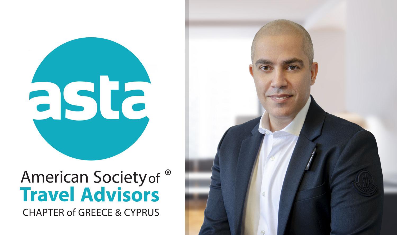 Χρήστος Μιστρής: Ο νεός αντιπρόεδρος της ASTA Greece & Cyprus