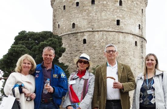 Ξενάγηση 2 ευρωπαίων αστροναυτών στη Θεσσαλονίκη και τη Βεργίνα