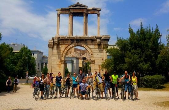 """""""Athens by Bike"""": Στις καλύτερες δραστηριότητες στον κόσμο δυο ποδηλατικές διαδρομές στην Αθήνα"""