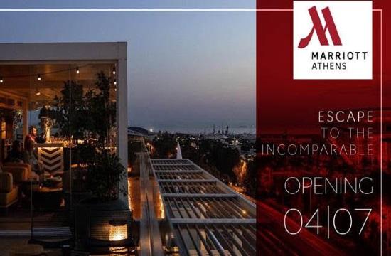 Άνοιξε στις 4 Ιουλίου το ξενοδοχείο Athens Marriott, με αυξημένα μέτρα προστασίας