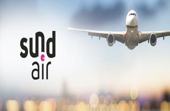 Πτήσεις τσάρτερ της Sundair από Γερμανία στη Χαλκιδική