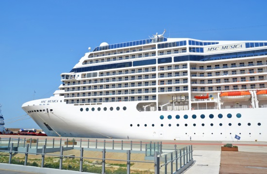 Στον Πειραιά το υπερπολυτελές κρουαζιερόπλοιο MSC MUSICA
