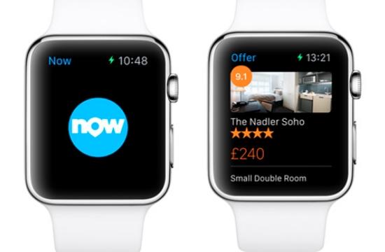 Νέα εφαρμογή της booking.com για κρατήσεις απευθείας από το Apple Watch