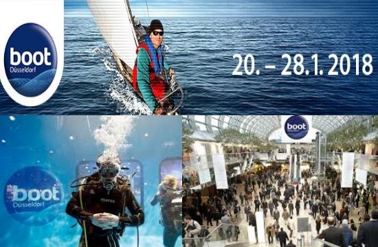 Συμμετοχή επιχειρηματιών της Ρόδου στην έκθεση Boot Duesseldorf 2018
