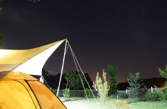 Άδεια για κάμπινγκ 5 αστέρων στη Λέσβο