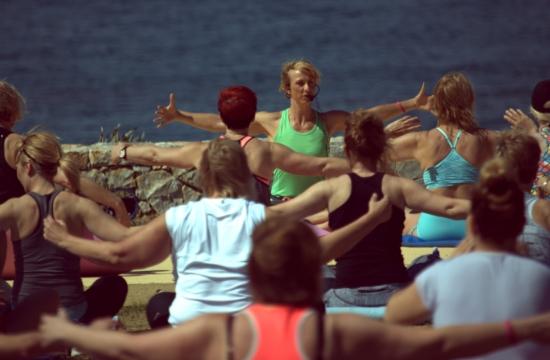 Η Ολυμπιακή Ομάδα της Σουηδίας στα Χανιά