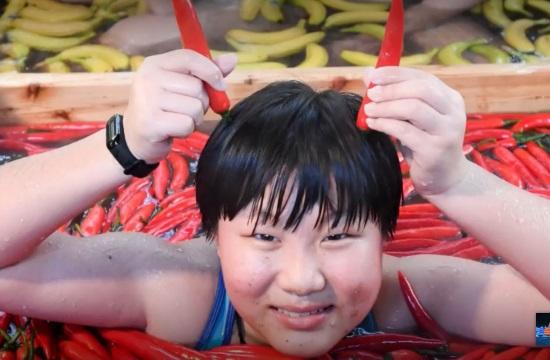 Εκπληκτικό! Δείτε πώς ένα ξενοδοχείο της Κίνας προωθεί την υγιεινή διατροφή