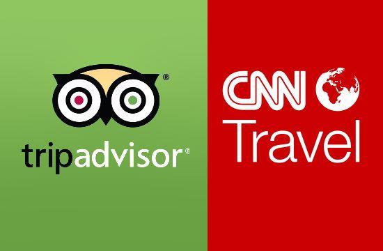 Οι κριτικές και οι κρατήσεις της TripAdvisor στο CNN Travel