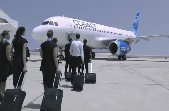 Cobalt Air: Χειμερινές πτήσεις από Φρανκφούρτη προς Λάρνακα