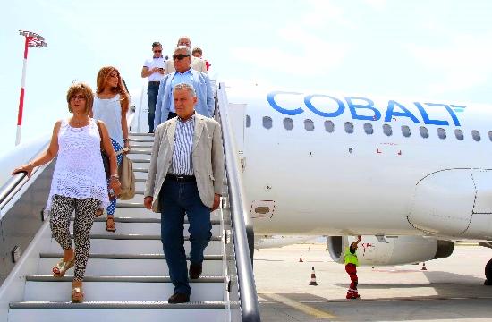 Πρώτη πτήση του νέου κυπριακού αερομεταφορέα Cobalt