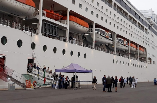 1.167 επιβάτες κρουαζιέρας στην Καλαμάτα σήμερα