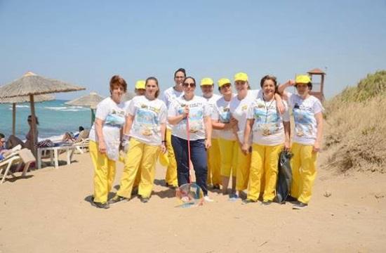 Καθαρισμός παραλιών στα ξενοδοχεία του Metaxa Hospitality Group