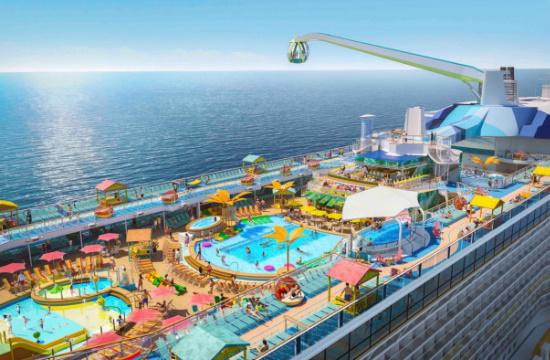 """Royal Caribbean: Νέο πρότζεκτ """"The Royal Beach Club Collection"""" - Το 2020 ξεκινά ταξίδια το νέο Odyssey Of The Seas"""