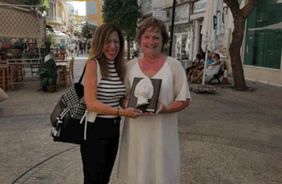 Ο ΚΟΤ τίμησε Γαλλίδα δημοσιογράφο
