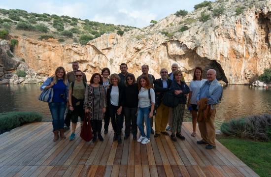 Ευρωπαίοι δημοσιογράφοι ανακαλύπτουν την Αττική
