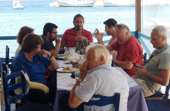 Αποστολή Τούρκων δημοσιογράφων στα νησιά του Ιονίου