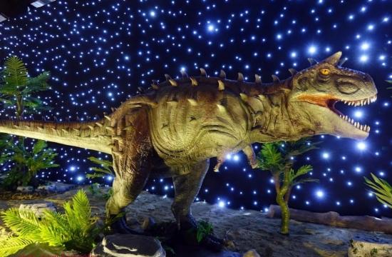 """ΔΕΘ: Ανοίγει σήμερα το θεματικό πάρκο """"Δεινόσαυροι"""""""