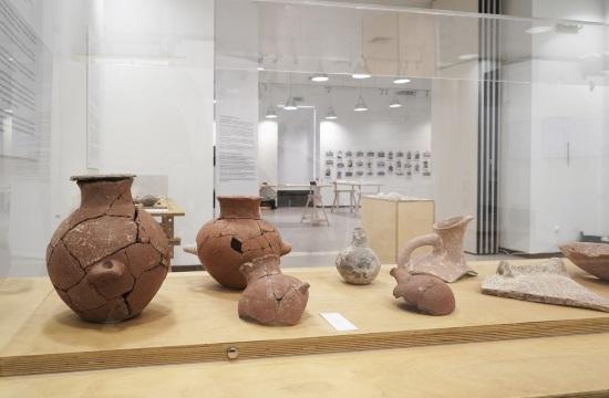 Τα σπουδαία αρχαιολογικά ευρήματα από την Κέρο στην Πινακοθήκη του Δήμου Αθηναίων