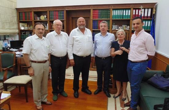 Περιφέρεια Κρήτης: Συνέργειες για ενίσχυση του τουρισμού από τη Γερμανία