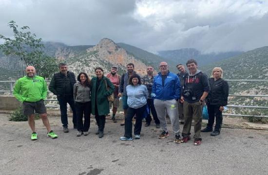 Fam trip ΕΟΤ: Προβολή της «υπαίθριας» Αρκαδίας στην ιταλική αγορά