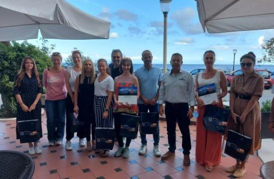 Ρόδος – Σύμη: Εκεί που το καλοκαίρι συνεχίζεται - Ταξίδι εξοικείωσης δημοσιογράφων από την Αυστρία