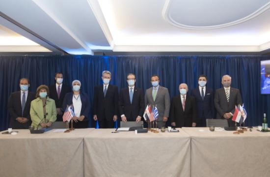 Μνημόνιο συνεργασίας μεταξύ των Αμερικανικών Επιμελητηρίων Ελλάδας, Κύπρου, Αιγύπτου
