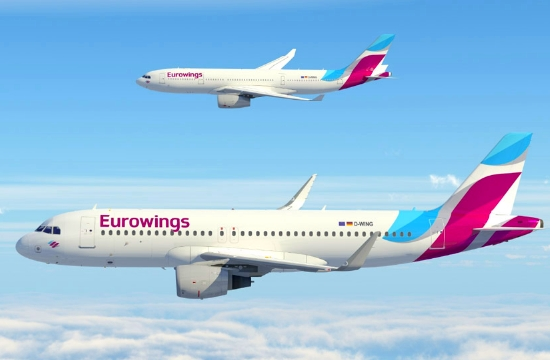 Κεραυνός χτύπησε αεροπλάνο της Eurowings σε πτήση προς τη Θεσσαλονίκη
