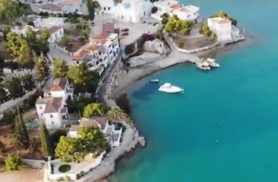Βίντεο: Πετώντας πάνω από την αρχαία πόλη των Αλιέων