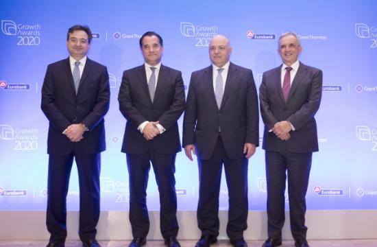 Growth Awards 2020   Η Eurobank & η Grant Thornton επιβραβεύουν την επιχειρηματική αριστεία