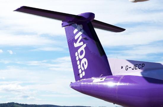 """Σε """"κενά αέρος"""" η βρετανική αεροπορική εταιρία Flybe"""