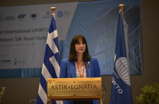 H E.Kουντουρά στην διημερίδα του ΠΟΤ για τον Δυτικό Δρόμο του Μεταξιού