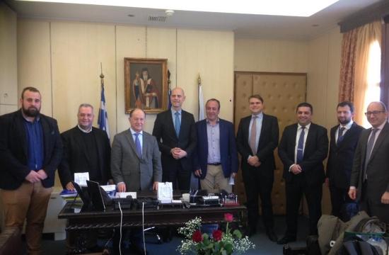 Ζάκυνθος: Συνάντηση του δημάρχου με τη Fraport για το αεροδρόμιο