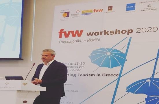 Δημ. Φραγκάκης: Τώρα ξέρουμε πώς θα κινηθούμε καλύτερα- τι είπε ο γ.γ. του ΕΟΤ στο FVW Workshop