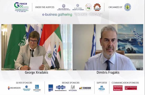 Δ. Φραγκάκης: Διεύρυνση της συνεργασίας με τα Ηνωμένα Αραβικά Εμιράτα  για τον ελληνικό τουρισμό