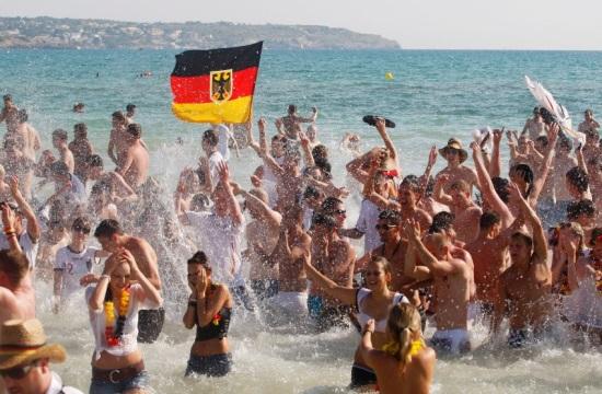 Πρώτος προορισμός των Γερμανών η ... Γερμανία το 2016