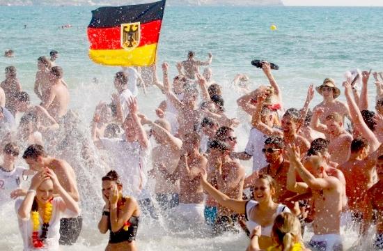+8% οι Γερμανοί τουρίστες στην Ελλάδα με οργανωμένο πακέτο διακοπών το 2016