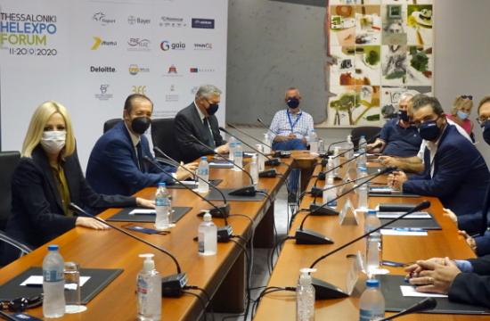 Φώφη Γεννηματά: Να καθιερωθεί ως ένας ετήσιος θεσμός το Thessaloniki Helexpo Forum