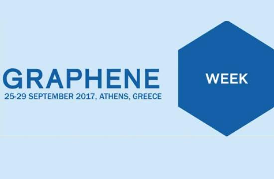 Διεθνές συνέδριο Graphene Week 2017 στην Αθήνα