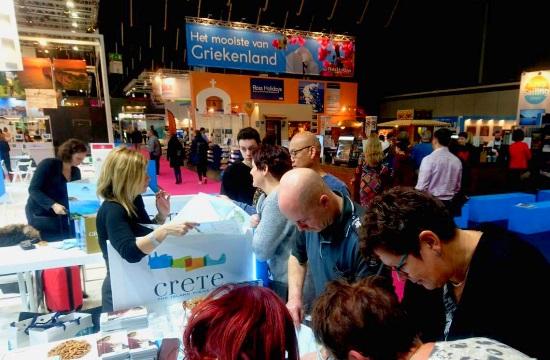 Η Κρήτη στη διεθνή έκθεση τουρισμού Vakantiebeurs στην Ολλανδία