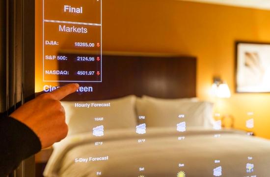 Έτσι θα είναι το ξενοδοχείο του μέλλοντος - επιστημονική φαντασία και μίνιμαλ λευκή διακόσμηση