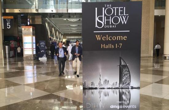 Το 100% Hotel Show στην έκθεση The Hotel Show Dubai για ξενοδοχεία
