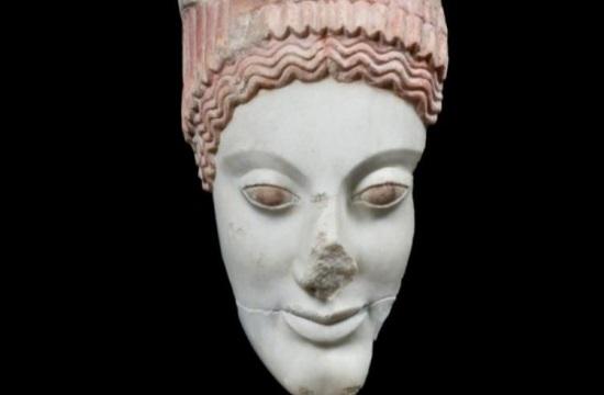 Η «Κόρη με τον πόλο» αύριο στο Μουσείο Ακρόπολης