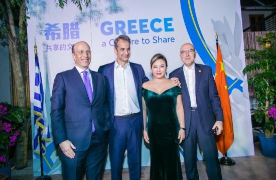 Το Hellas House στη Σαγκάη υποδέχθηκε τον κ.Μητσοτάκη