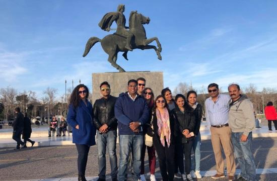 Ινδοί τουριστικοί πράκτορες ανακαλύπτουν την Αθήνα και τη Θεσσαλονίκη