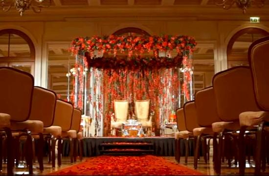 Ο χλιδάτος ινδικός γάμος που έγινε στην Αθήνα