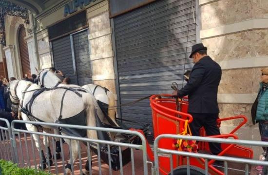 Ινδικός γάμος-υπερπαραγωγή στο κέντρο της Αθήνας (video)