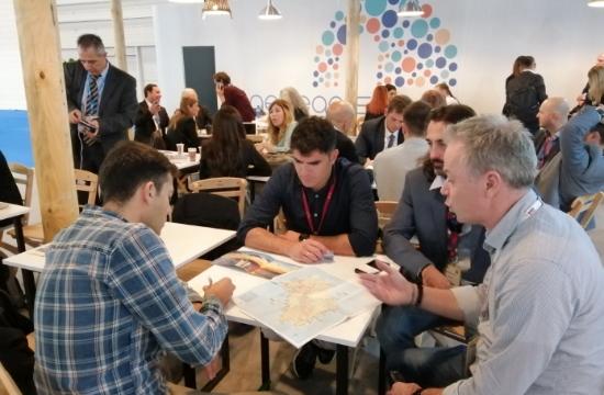 Παρουσίαση της Ίου σε bloggers και διεθνή ΜΜΕ στην έκθεση WTM