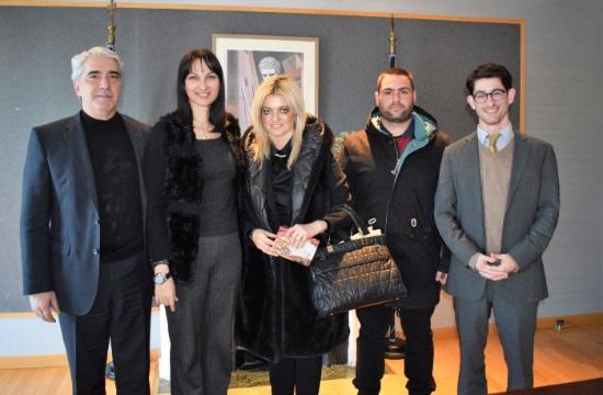 Συνάντηση Κουντουρά για την τουριστική ανάπτυξη της περιοχής Ιστιαίας-Αιδηψού